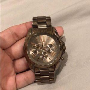 Bronze/Rose Gold Michael Kors Watch